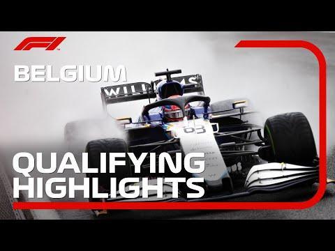 Qualifying Highlights  2021 Belgian Grand Prix