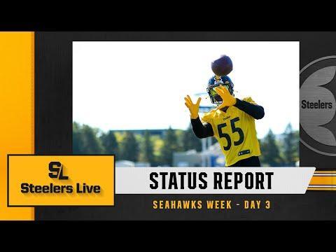 Steelers Live Status Report Seahawks Week  Day 3  Pittsburgh Steelers