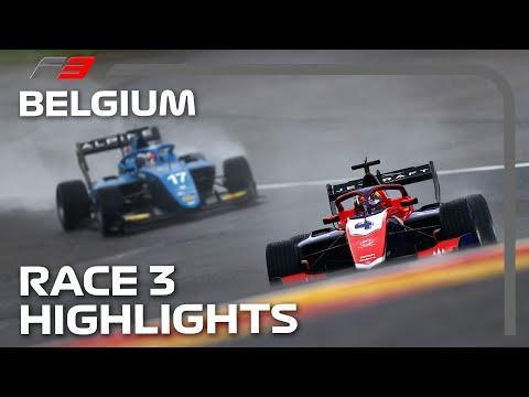 F3 Race 3 Highlights  2021 Belgian Grand Prix