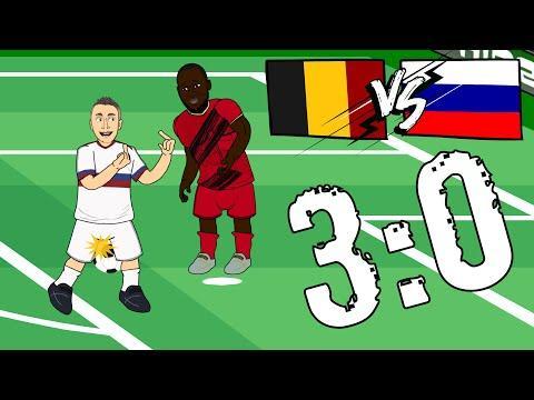 Бельгия  Россия 3 0 Евро 2020  Обзор Матча  Мультбол Песня