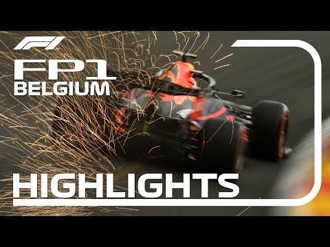 Fp1 Highlights  2021 Belgian Grand Prix