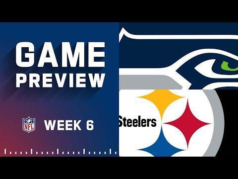 Seattle Seahawks Vs Pittsburgh Steelers  Week 6 Nfl Game Preview