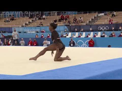 Simone Biles Floor Podium Training 2021 Tokyo Olympic Games