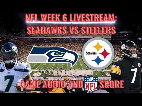 Nfl Week 6 Seattle Seahawks  Pittsburgh Steelers Live Stream