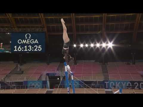 Sunisa Lee Bars Podium Training 2021 Tokyo Olympic Games