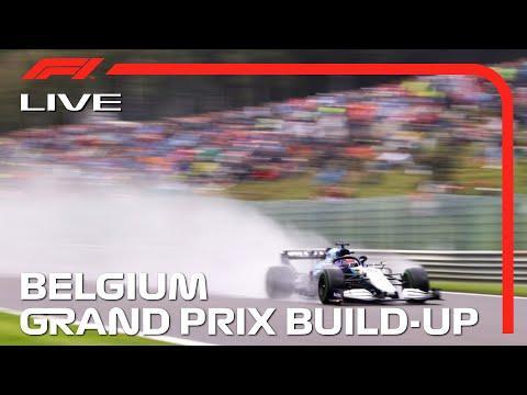 F1 Live Belgian Gp Build Up