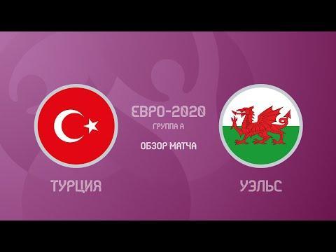 Турция — Уэльс — 0 2 Евро 2020 Обзор Матча Все Голы И Лучшие Моменты