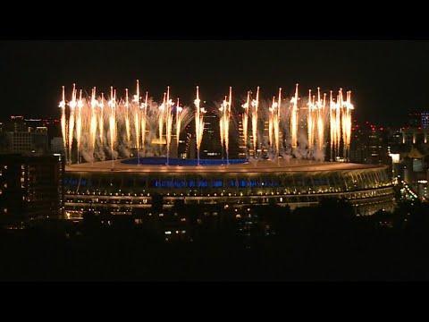 Tokyo 2020 Fireworks Mark Start Of Olympics Closing Ceremony  Afp
