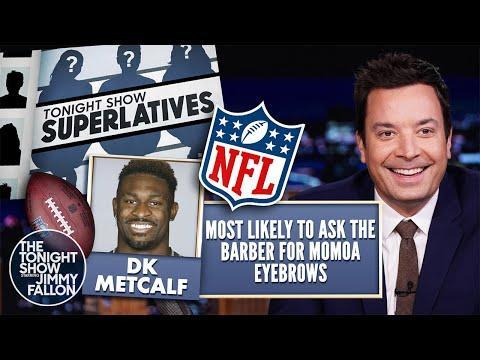 Tonight Show Superlatives 2021 Nfl Season  Seahawks And Steelers  The Tonight Show