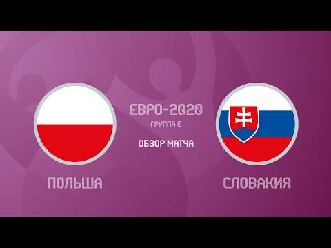 Польша — Словакия — 1 2 Евро 2020 Первое Удаление На Турнире Обзор Матча Голы И Лучшие Моменты