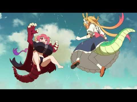 Anime Кобаяши Кобаяши И Её Горничная Дракон 2 Сезон 1 Серия