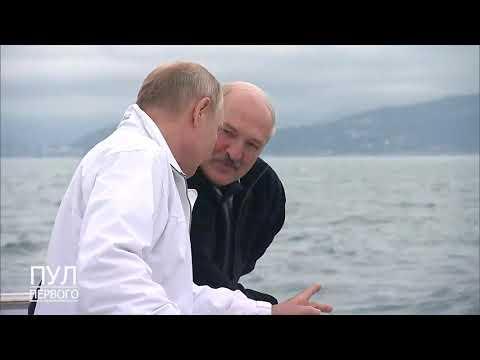 Фрагменты Видео Из ️неформальной Встречи Лукашенко И Путина