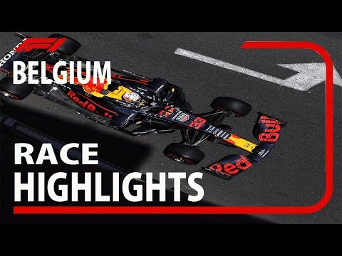 F1 2021 Belgian Grand Prix  Race Highlights