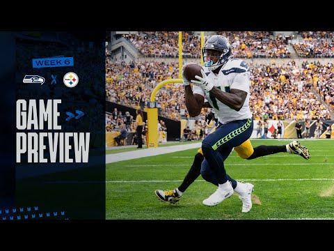 2021 Week 6 Seahawks At Steelers Preview