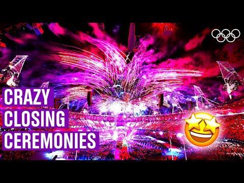 The Most Amazing Closing Ceremonies